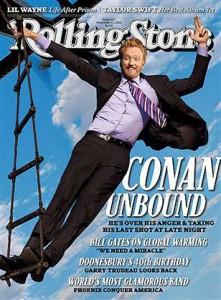 Conan O'Brien: Rolling Stone Magazine