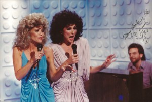 Jan Hooks and Nora Dunn as Sweeney Sisters SNL