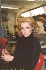 Nora Dunn as Catherine Deneuve SNL 1989