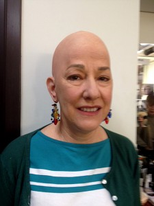 Deb's Bald Capped Woman