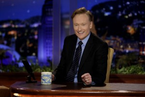Conan O'Brien at Desk