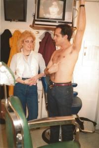 Deborah Paulmann and Jon Lovitz SNL