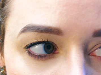 made-up-eyebrows