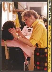 Nora Dunn in SNL Makeup Chair