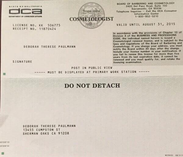 California Nail Tech License - Nail Ftempo