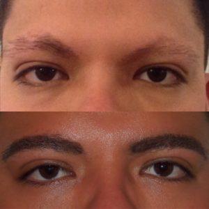 Aaron P.: Eyebrows