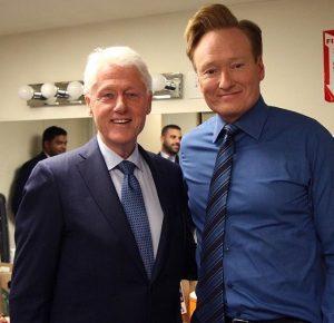 President Clinton & Conan
